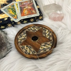 Other - Cone incense burner star dish